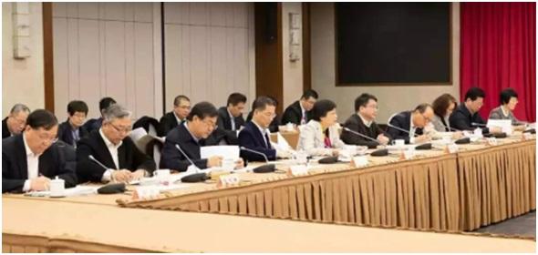 胡卫出席座谈会审议《政府工作报告》(征求意见稿)