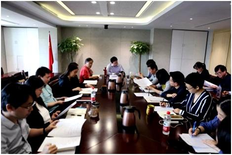 民进上海市委参政议政工作联席会举行 胡卫讲话