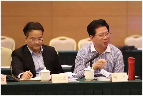 胡卫随全国政协副主席李斌率调研组在沪调研