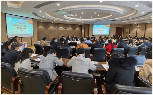2019年本市民办高校学生党建专题培训在建桥学院举行