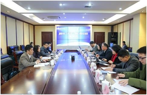 教育部派专家组到上海杉达学院调研