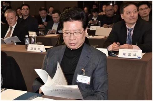 上海市民营经济研究会换届  胡卫受聘首席特邀专家