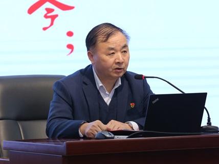 上海建桥学院党史学习教育会议召开 江彦桥作动员