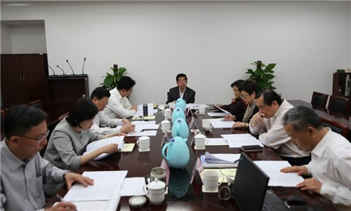 民进上海市委举行十六届二次主委会议 胡卫出席